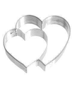 Ausstecher - doppeltes Herz