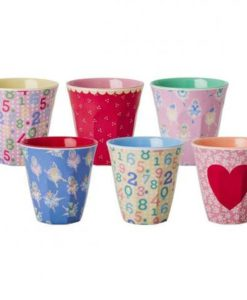 Rice Melamin Becher Set Girl - 1 Becher