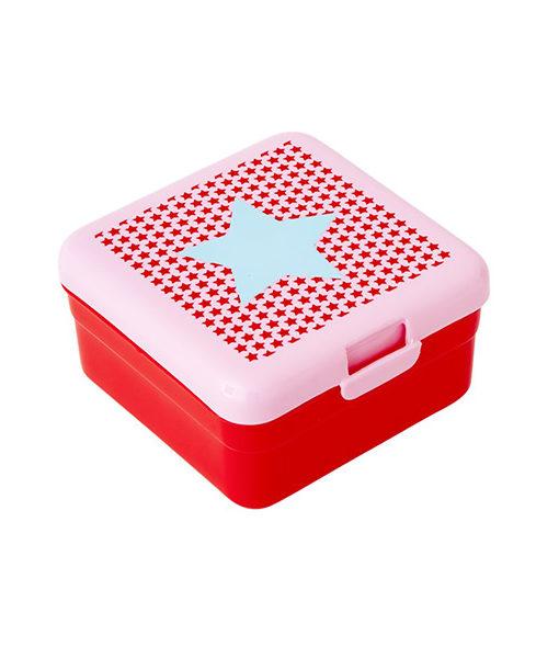 Rice Brotdose STAR SMALL in rosa