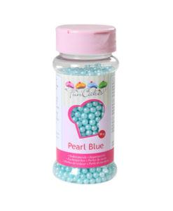 FunCakes Zuckerperlen perlmutt blau