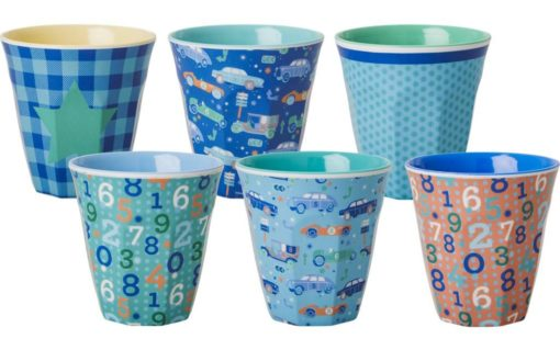 Rice Melamin Becher Set Boy - 1 Becher