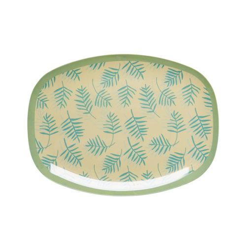 Rice Melamin Teller Palmblätter