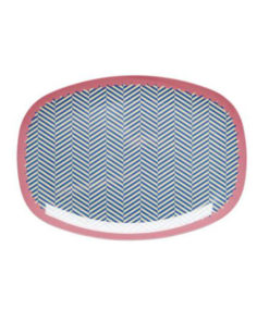 Rice Teller Oval Sailor Stripe
