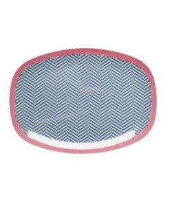 Rice Teller Oval Sailor Stripe
