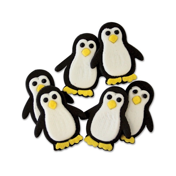 Zuckerdekor - Pinguine