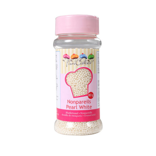 FunCakes Nonpareilles - perlweiss