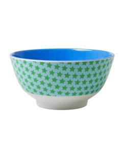 Rice Schale Sterne blau
