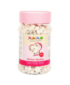 FunCakes Streusel im Winter Mix 180g