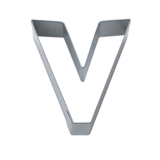 Ausstecher - Buchstabe V