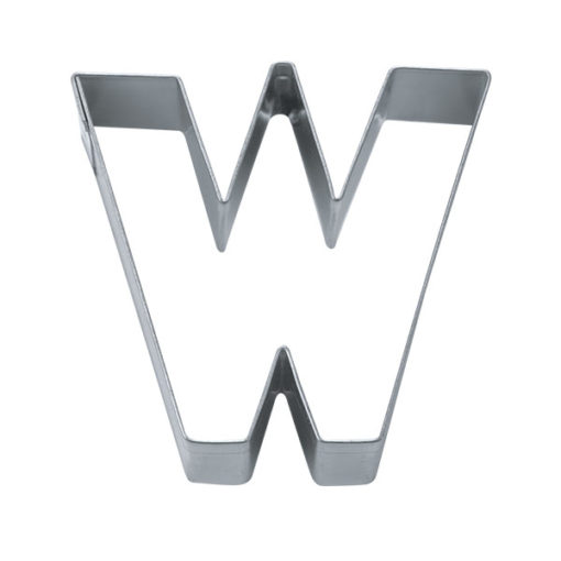 Ausstecher - Buchstabe W