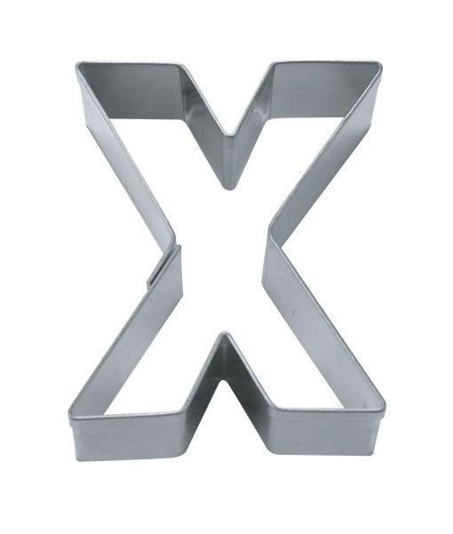 Ausstecher - Buchstabe X