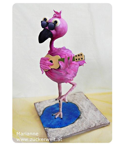 3D Torte Flamingo - 12.03.2017