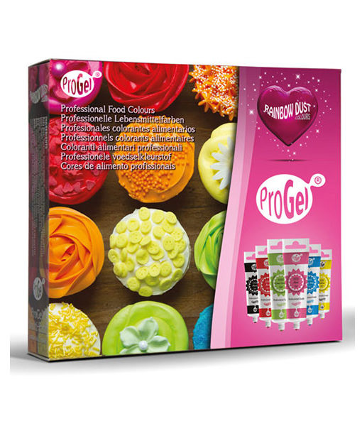 ProGel Lebensmittelfarben Set