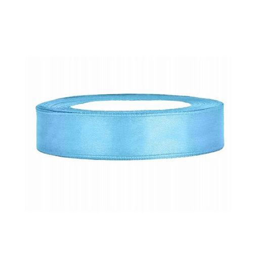 Satinband - blau (hell), 12mm