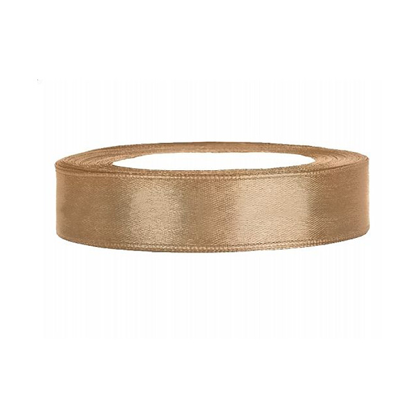 Satinband - gold, 12mm