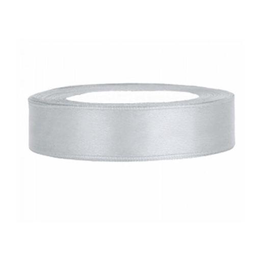 Satinband - silber, 12mm