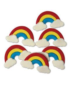 Zuckerdekor - Regenbogen