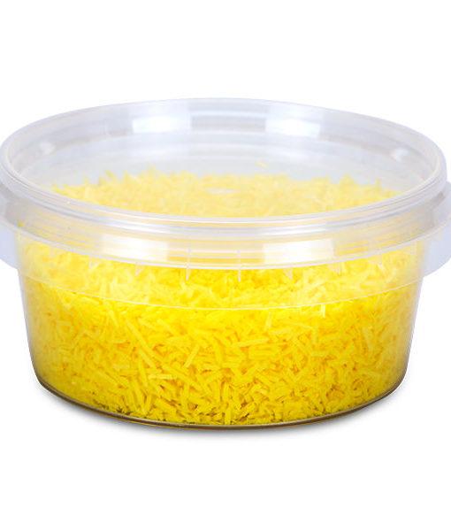 Esspapier Streusel - gelb