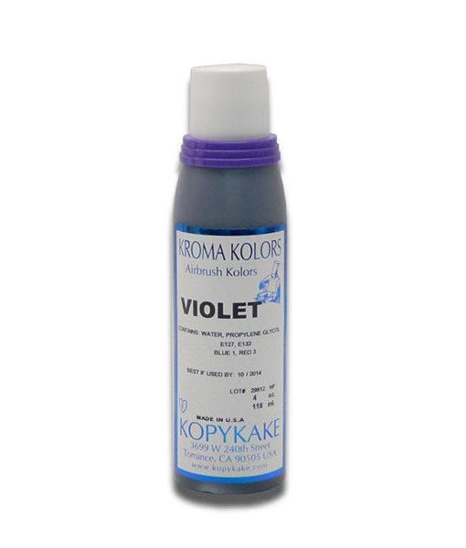Kroma Airbrush Lebensmittelfarbe lila