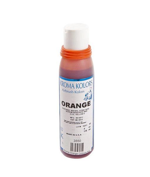 Kroma Airbrush Lebensmittelfarbe orange