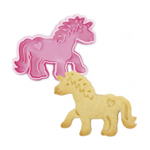 Ausstecher - Einhorn, pink