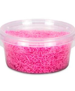 Esspapier Streusel - pink