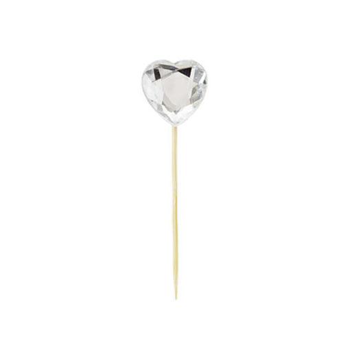Miss Étoile Deko-Stick Diamant Herz