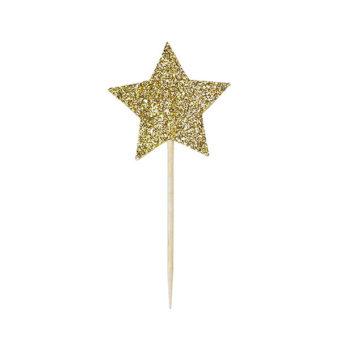 Miss Étoile Deko-Stick Big Star Gold