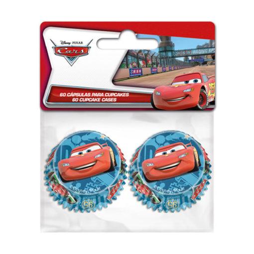 Papierbackförmchen - Cars mini