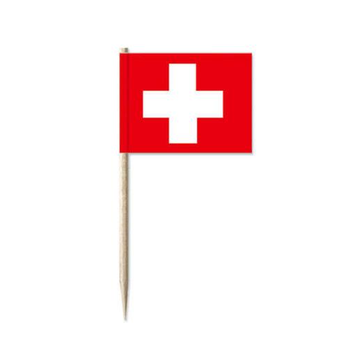 Schweizer Fahne Topper 50Stk.