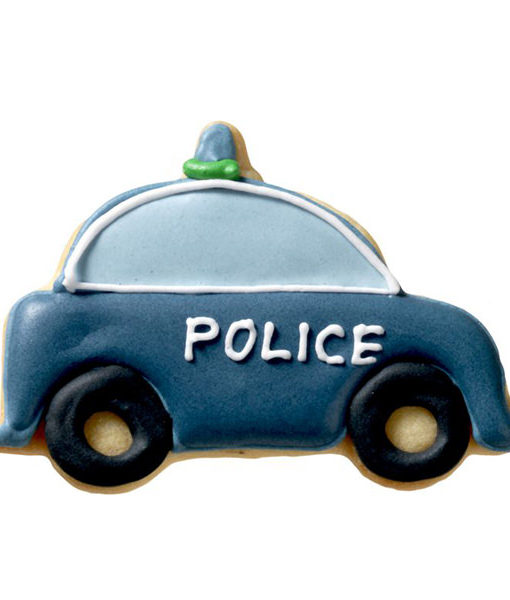 Ausstecher - Polizeiauto
