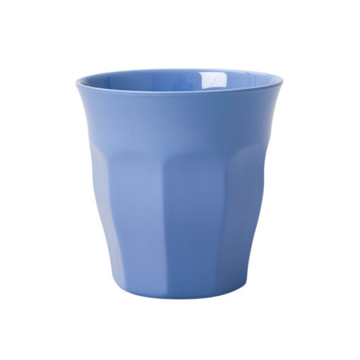Rice Melamin Becher blau