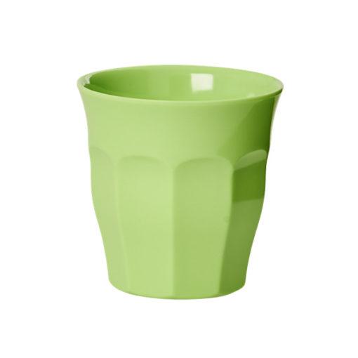 Rice Melamin Becher pastel neon grün