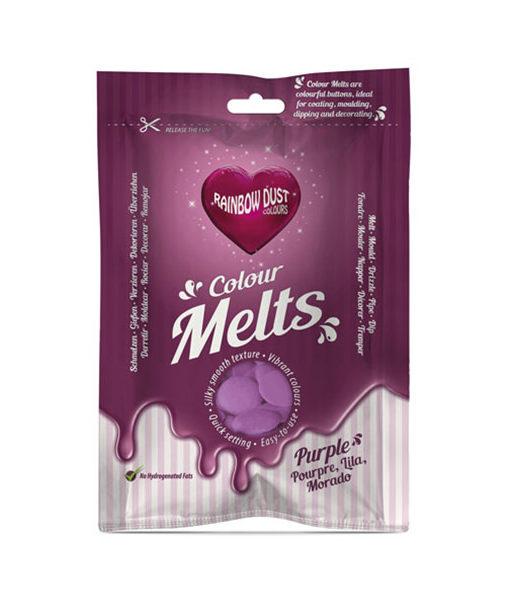 Rainbow Dust Candy Melts - lila