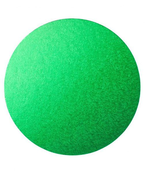 Tortenplatte - rund (30cm) grün