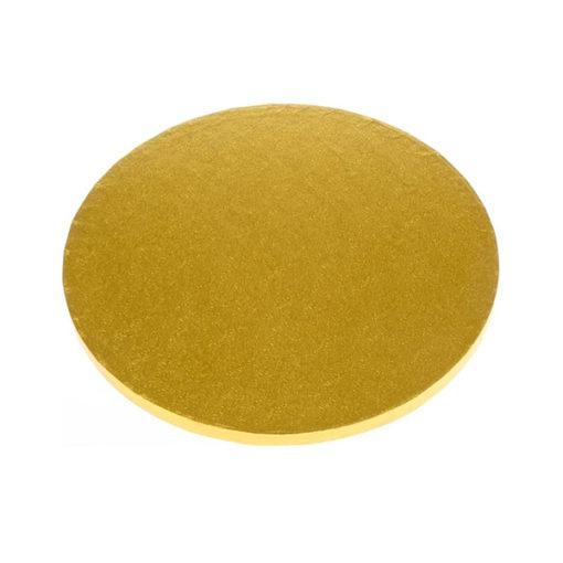 Tortenplatte - rund (30cm) gold