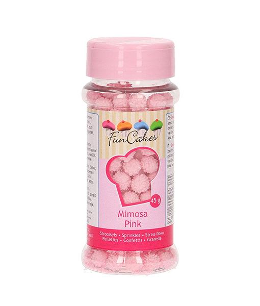 FunCakes Streusel Mimosa pink