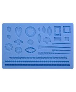 Silikonform - Edelsteine und Perlen