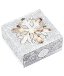Kekse Verpackung Schneeflocke