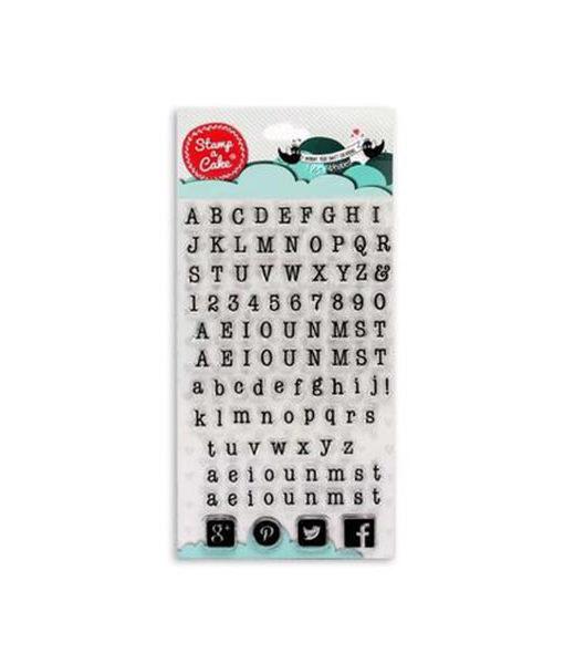 Stamp a Cake - Stempel Buchstaben