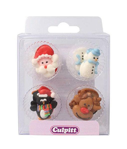 Zuckerdekor Weihnachtsfiguren