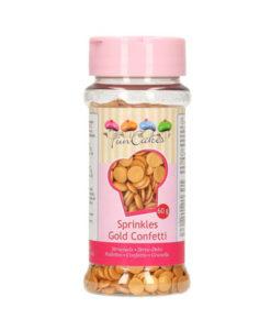 FunCakes Streusel Confetti gold