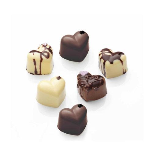 Silikon Mould Schokoladenform Herzen
