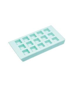 Silikon Mould Schokoladenform Quadrate