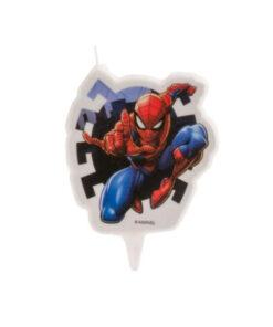 Kuchenkerze Spiderman