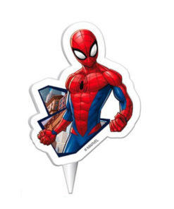 Kuchenkerze Spiderman