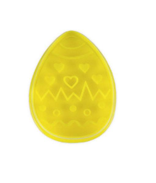 Ausstecher - Osterei, gelb