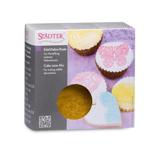 Cake Lace Mix für essbare Spitze gold