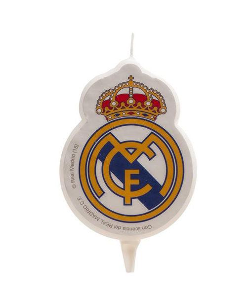 Kuchenkerze Real Madrid