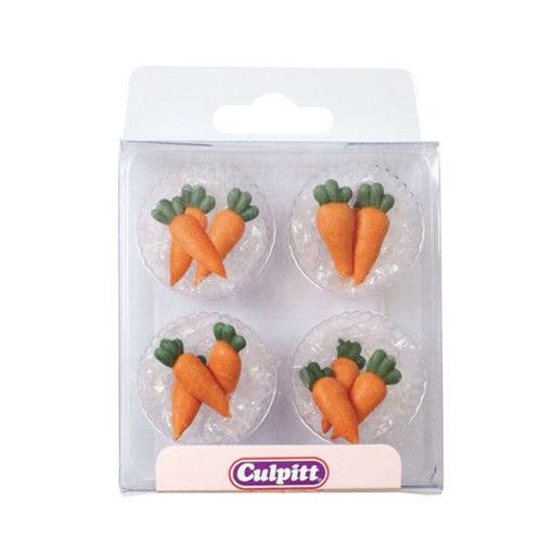 Zuckerdekor Karotten